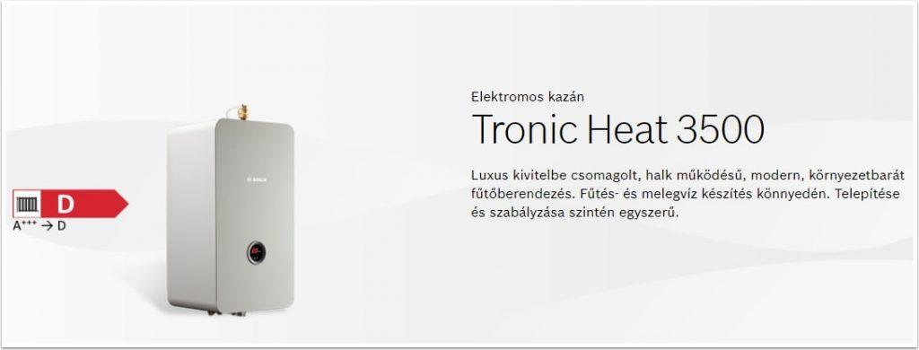 Bosch Tronic Heat 3500 elektromos kazán